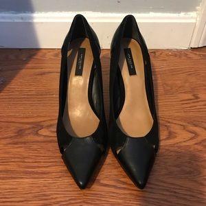 Ann Taylor heels, velvet